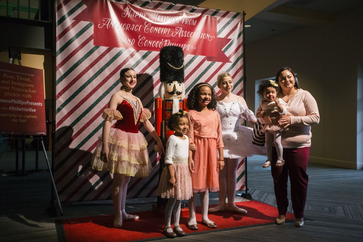 Nutcracker step and repeat